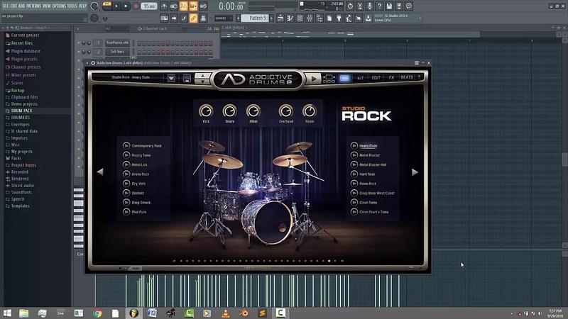How to Make afrobeat using Addictive drums | FLP