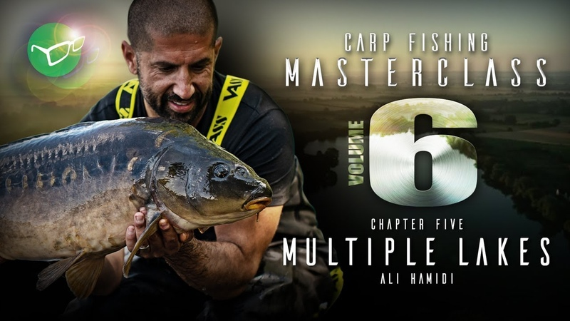 Korda Carp Fishing Masterclass Vol 6 Multiple Lakes Ali Hamidi 2019