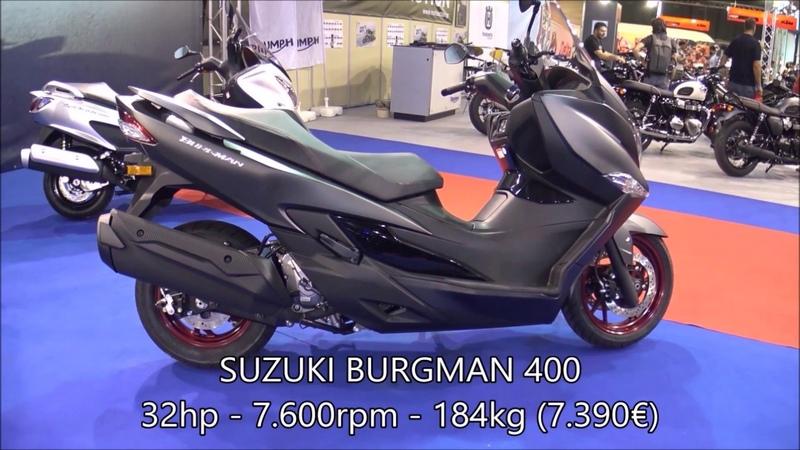SUZUKI BURGMAN 400 vs KYMCO XCITING 400