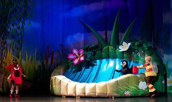 В интерактивном театре «На Михалковской» юным гостям покажут спектакль про Бабу-ягу