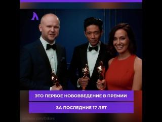 Новая номинация в премии «Оскар» | АКУЛА