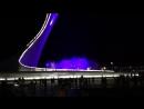 поющие фонтаны в Олимпийском парке.