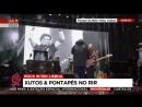 Marcelo Rebelo de Sousa canta A Minha Casinha com os Xutos e Pontapes