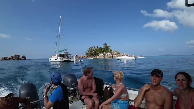 Сейшелы за 50€ Плывем на остров Курьез