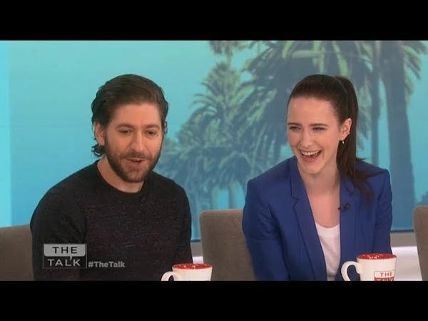 Michael Zegen and Rachel Brosnahan interview on the Talk Show