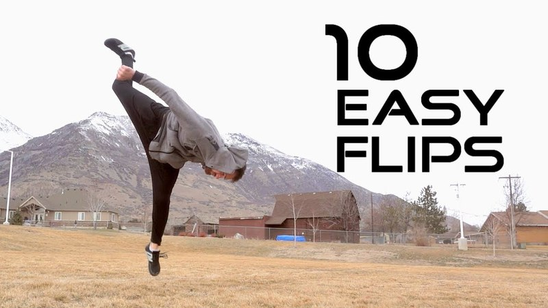 10 Flips Anyone Can Learn Flip Progressions