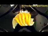 КАК КРАСИВО НАРЕЗАТЬ ЛИМОН! #КАРВИНГ. Ну очень #легко и #быстро! #Украшения из фруктов!