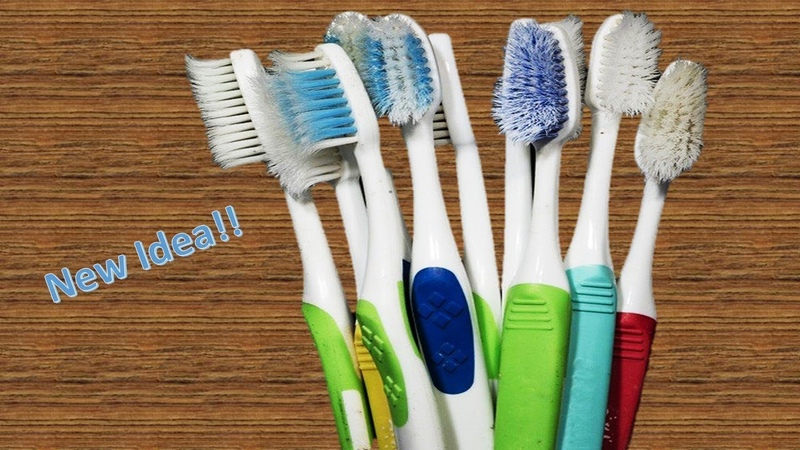 How to Reuse Old Waste Toothbrush at home | Best out of waste | Waste material craft