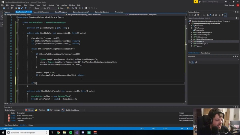 [Live]C Creating TCP/UDP Client Server Networking System 1