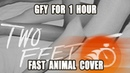 Two Feet GFY FAST Animal Cover