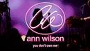 Ann Wilson - You Don't Own Me