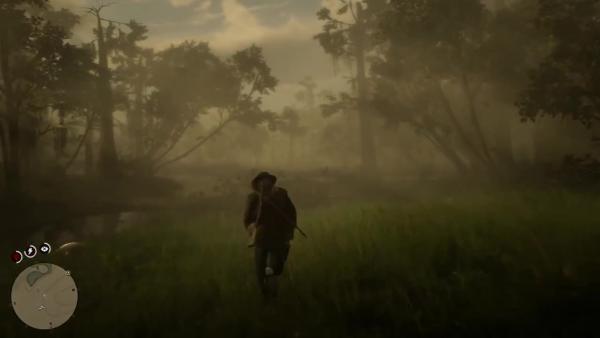 Пасхалка Red Dead Redemption 2 Каа из Книги Джунглей