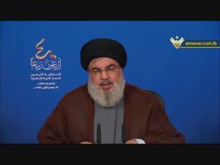 كلمة الأمين العام - ذكرى انتصار الثورة الاسلامية (часть II)