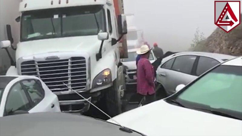 Аварія у Мексиці - розбито більше 50 автомобілів