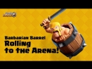 Clash Royale- Barbarian Barrel Gameplay Reveal! (New Card!)