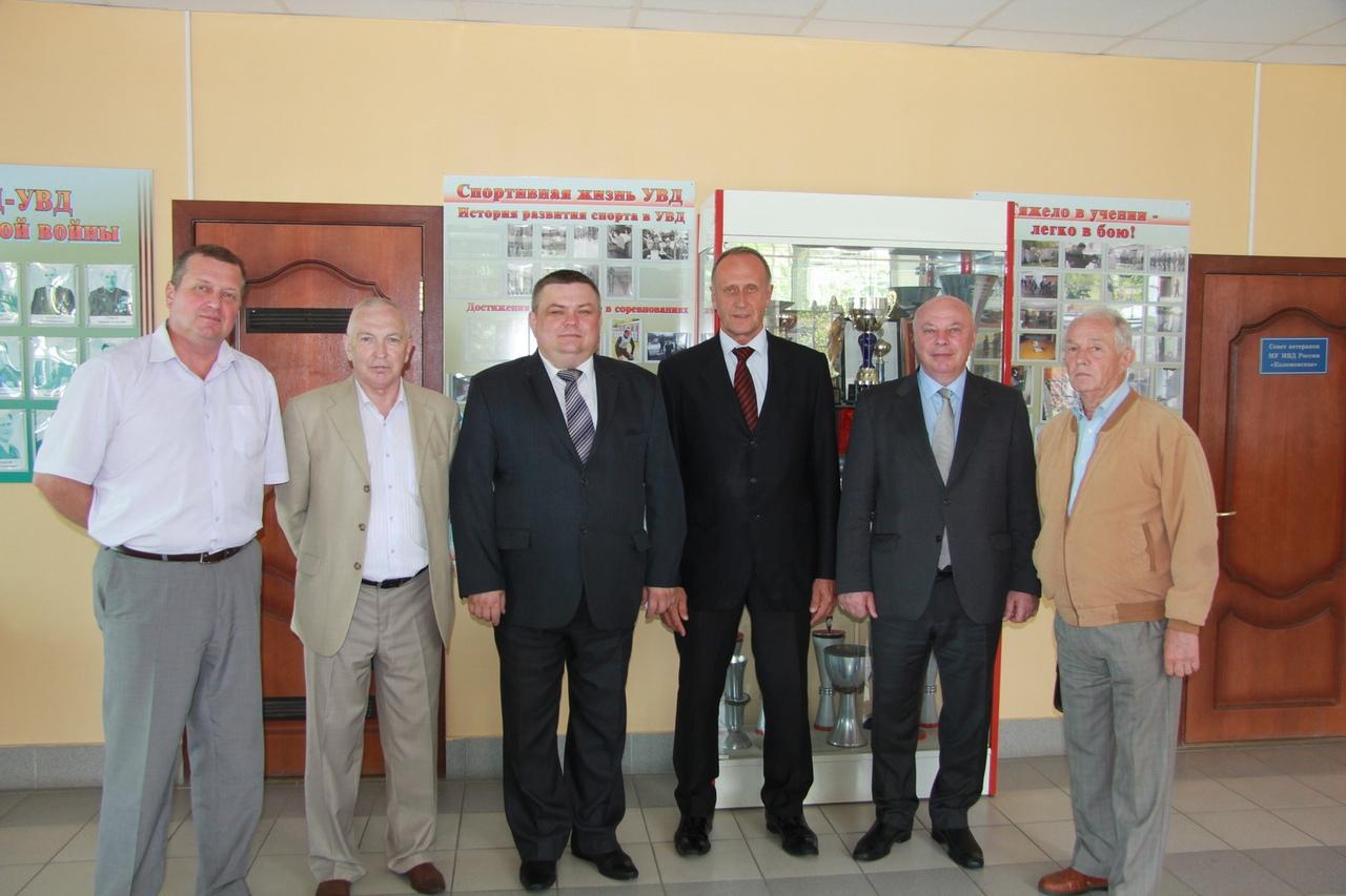 Председатель Общественного совета при ГУ МВД России по Московской области посетил УМВД России по Коломенскому городскому округу
