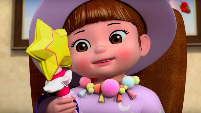 Волшебница Консуни - Консуни песенка 8 - Magician Song Textless - Kids Cartoon