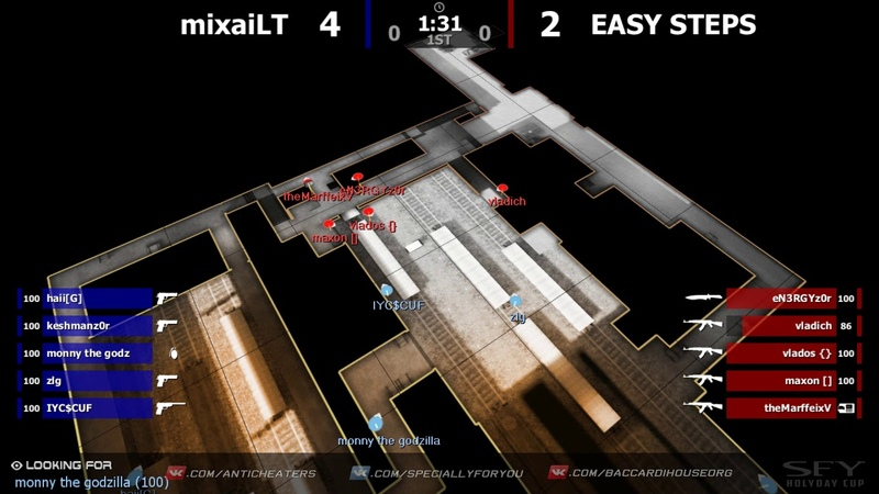 SPECIALLY FOR YOU - HOLIDAY CUP: EASY STEPS vs mixaiLT