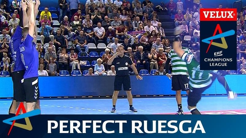 Perfect Ruesga seals Sporting win   Round 2   VELUX EHF Champions League 2017/18