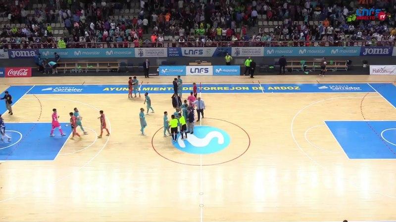 📺 Playoffs Liga Nacional de Fútbol Sala Movistar Inter - Aspil Vidal Ribera Navarra