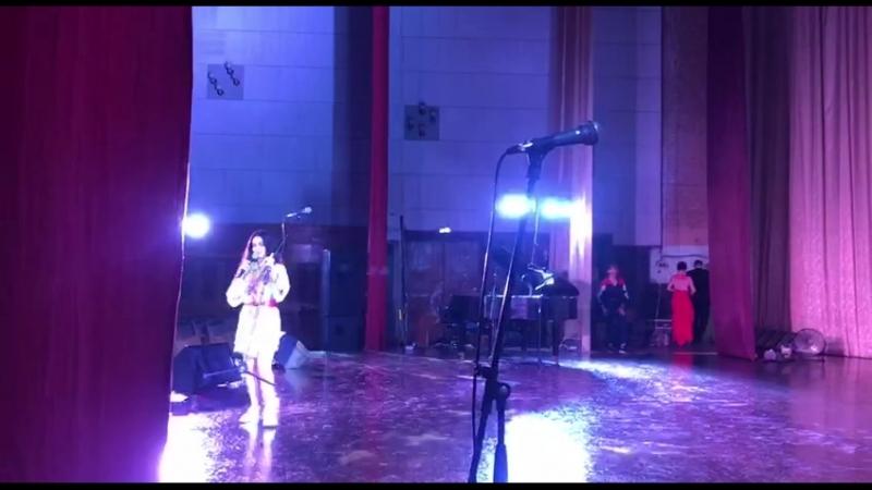 ◘ Анна Тринчер на каневском кинофестивали в кинотеатре «Канев» ◘