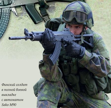valmet/sako штурмовая винтовка тяжело пережившая вторую мировую войну финляндия после окончания боевых действий не решилась вступить в блок нато, боясь реакции могущественного ссср. рассчитывая