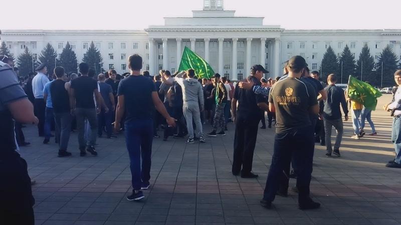 Митинг в Нальчике: адыги поддержали сородичей