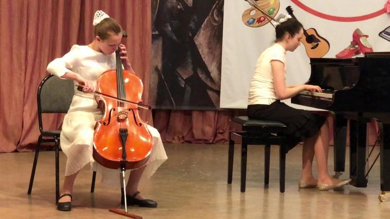 И.Иордан Скерцо- исполняют Афонина Александра и Гурова Марина.