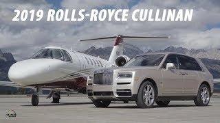 2019 Rolls Royce Cullinan with CEO Torsten Müller Ötvös in Jackson Hole Wyoming