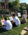 """Britney Spears on Instagram: """"Painting feels so therapeutic to me! Getting to do this with my boys on a beautiful day like this is such a blessing!!!"""""""