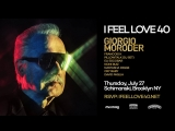 ТРАНСЛЯЦИЯ I HD o7-o8-2o18 _ GIORGIO MORODER at 'I Feel Love' 40 Years Celebration Brooklyn #2o18