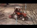 Трактор Т-25 Владимировец на хоз работах г Тольятти