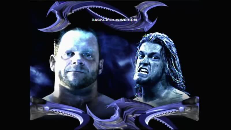 Edge Vs Chris Benoit - Last Man Standing Match - Backlash 2005
