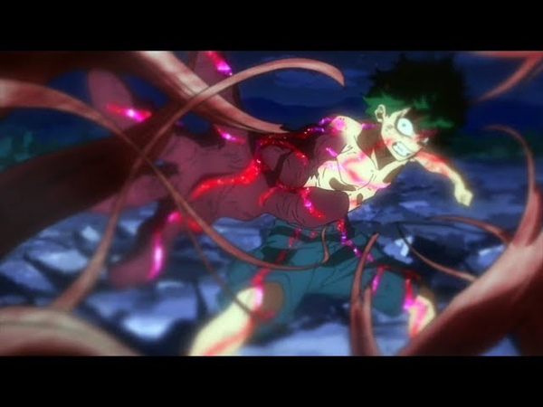 Boku no Hero Academia season 3 AMV - Ultra Midoriya vs Muscular Full Fight