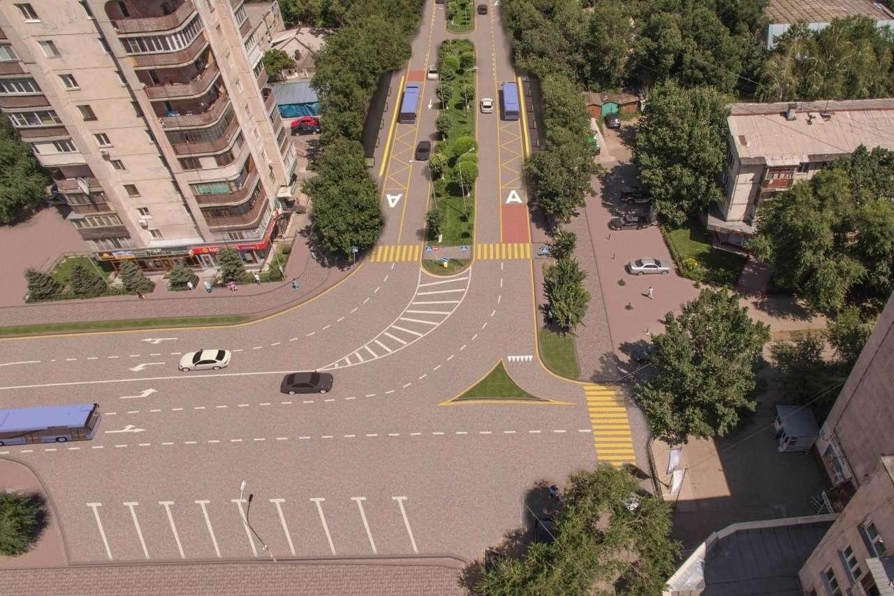 По линии BRT на улице Тимирязева в Алматы будут ездить тролл