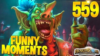 HEARTHSTONE Best Daily FUNNY and WTF Moments 559!