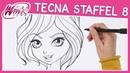 Winx Club - Season 8 - Wie zeichnet man Tecna [TUTORIAL]