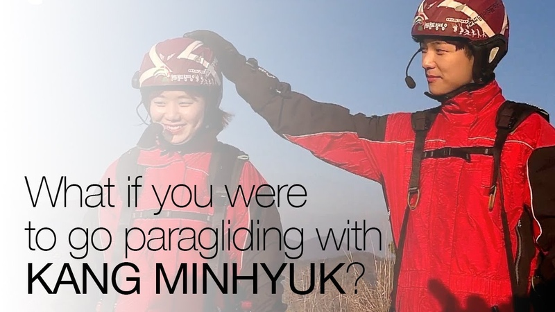 What if you were to go paragliding with Kang Minhyuk?