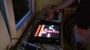 Korg Monologue, ableton push and roland vt-3. Homestudio live performance