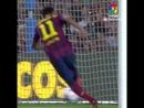Первый гол Неймара за Барселону