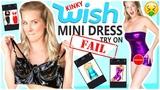 MINI DRESS TRY ON 9 Kinky Styles From WISH.COM