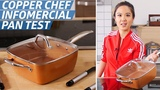 Does the Copper Chef Pan Live Up to Its Bold Infomercial Claims The Kitchen Gadget Test Show