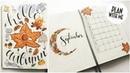 Autumnal September Plan With Me | Bullet Journal