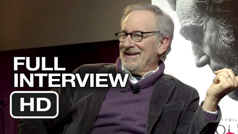 Lincoln QA - Full Interview (2012) - Steven Spielberg, Daniel Day-Lewis Movie HD