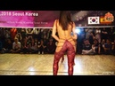 Kizomba Open Korea Invitation Kizomba Queen Sara Panero Lady Styling Solo Performance