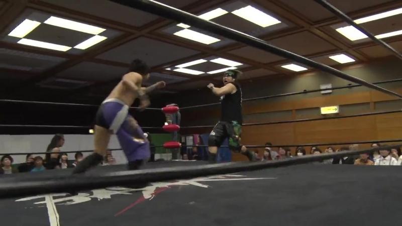 FUMA vs. Takato Nakano vs. Yasu Urano (BASARA - Vajra 62 ~ Battle of Oke Okama)