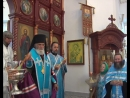 Епископ Адриан окропил святой водой учеников перед началом Нового учебного года