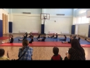 Открытый урок - акробатика 17 мая.