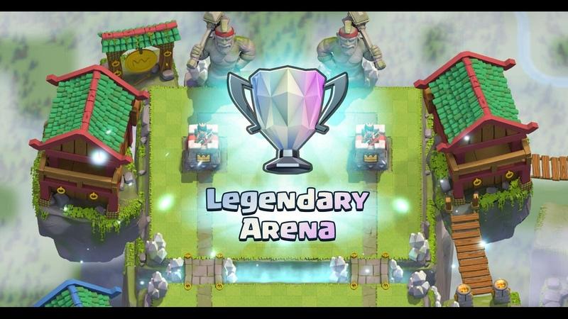 Дека для поднятия до 10 арены! Clash royale