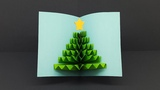 Surprise Cards for Christmas Gift How To Make 3D Christmas Pop Up Card DIY Paper Crafts